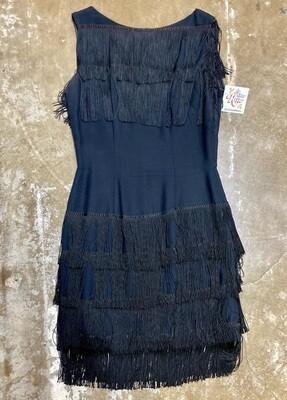 Lilli Diamond California Vintage MCM Flapper Dress