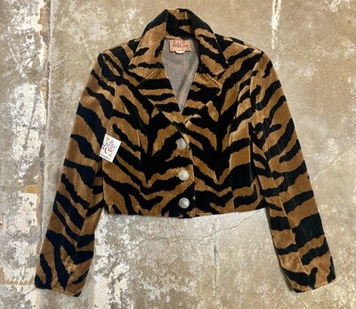 90s U.S. Made, Painted Pony, Tiger Jacket