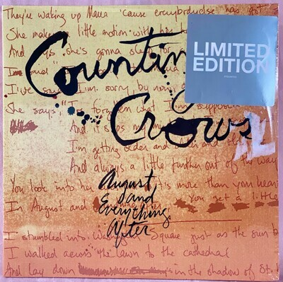 Counting Crows – August and Everything After (SEALED), 2xLP