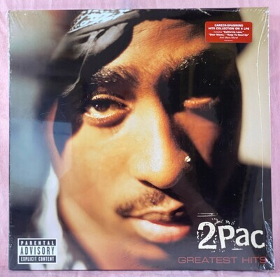 2Pac – Greatest Hits -SEALED, LP