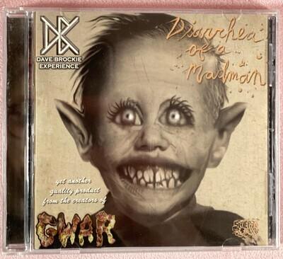 DAVE BROCKIE EXPERIENCE: Diarrhea of a Madman - CD