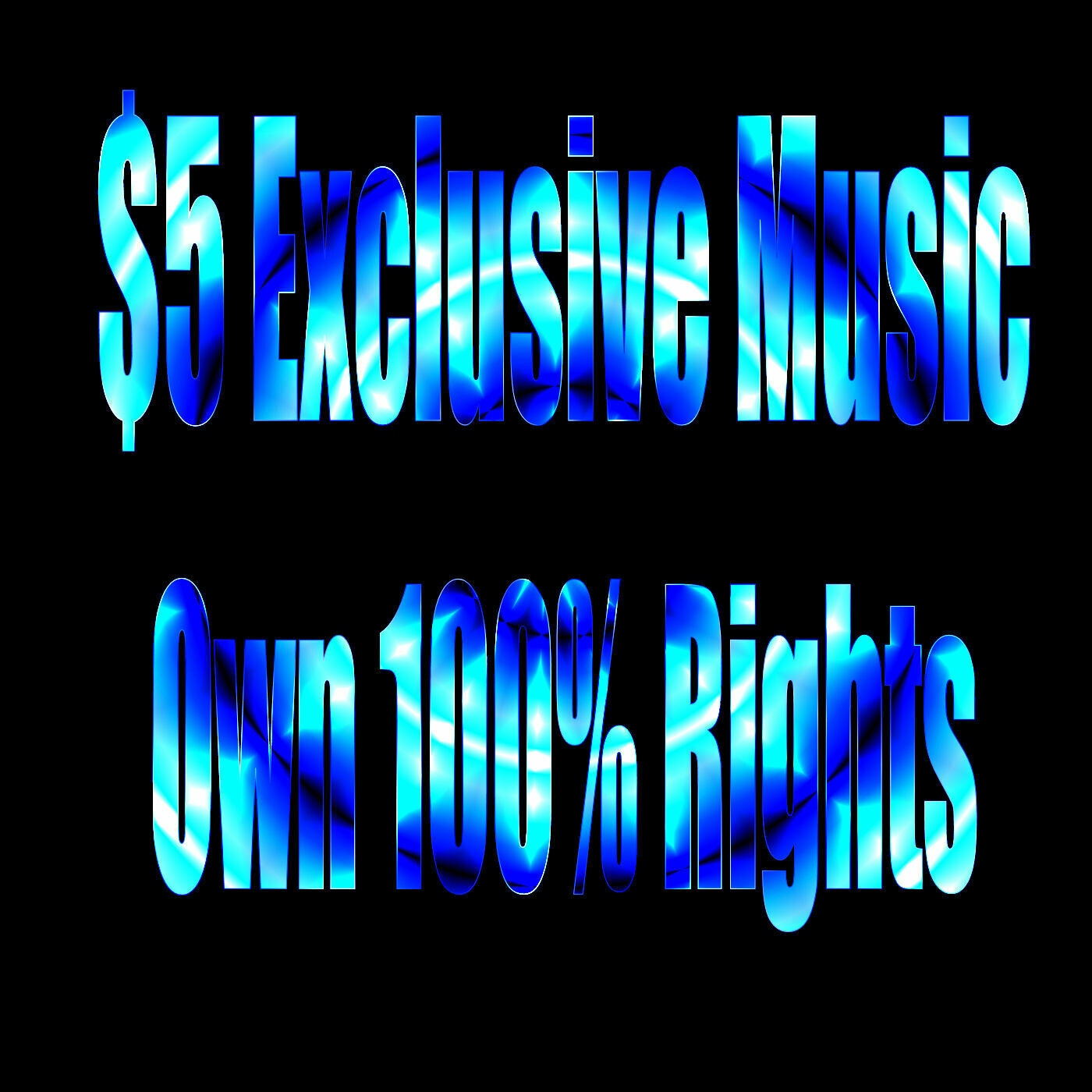 Buy An Exclusive Song Ownership Cheap!