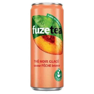 FUZE TEA PECHE BTE 33cl X24