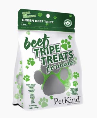 PetKind Beef Tripe Treats 170g