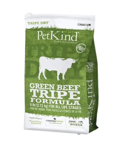 PetKind Dog Green Beef Tripe 2.27 kg