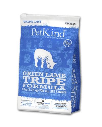 PetKind Dog Green Lamb Tripe 2.27 kg