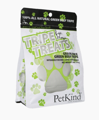 PetKind Green Beef Tripe Treats
