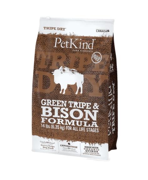 PetKind Dog Green Tripe & Bison 6 kg