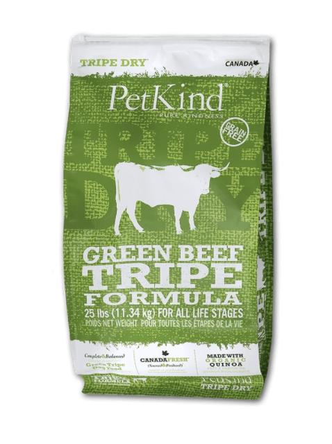 PetKind Dog Green Beef Tripe 11.34 kg