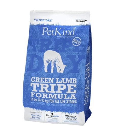 PetKind Dog Green Lamb Tripe 6.35 kg