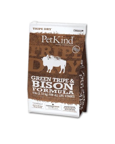 PetKind Dog Green Tripe & Bison 2.72 kg