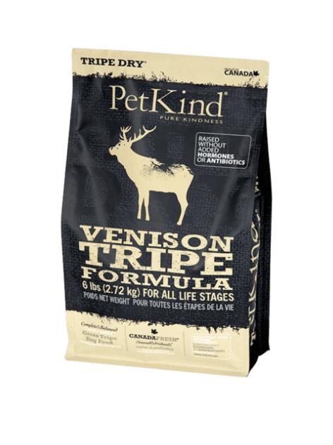 PetKind Dog Venison Tripe 2.72 kg