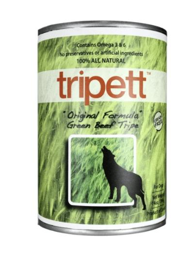 Tripett Dog Green Beef Tripe 396 g