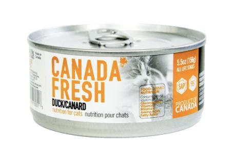 Canada Fresh Cat Duck 156g