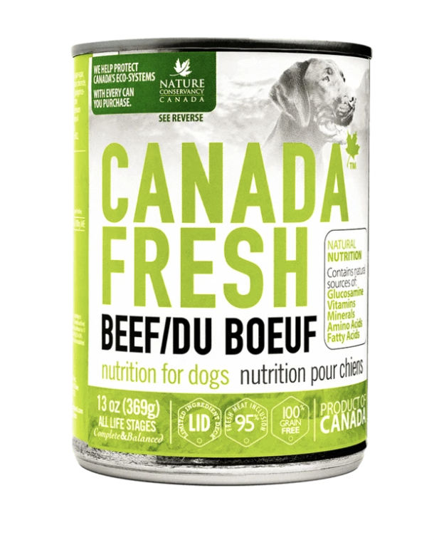 Canada Fresh Dog Beef 369 g
