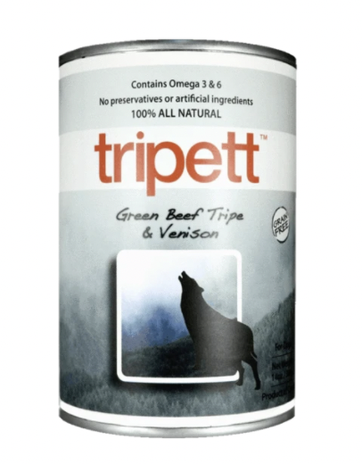 TRIPETT Green Beef Tripe & Venison 396 g