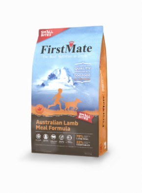 First Mate DOG Small Bites Australian Lamb 5lb