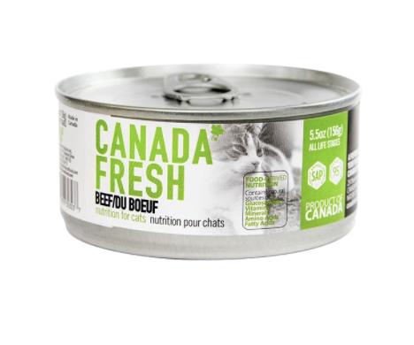 Canada Fresh Cat Beef 156g