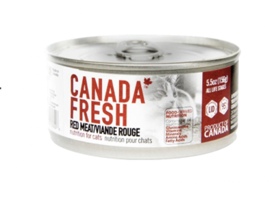 Canada Fresh Cat Red Meat 156g