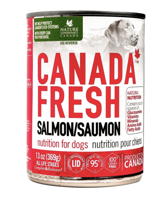 Canada Fresh Dog Salmon 369g