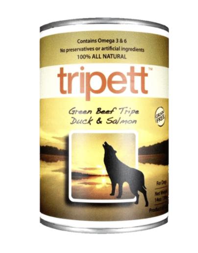 TRIPETT Green Beef Tripe, Duck  & Salmon 396 g