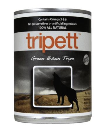 TRIPETT Green Bison Tripe 396 g
