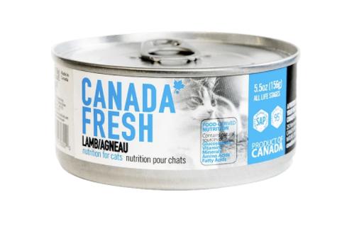 Canada Fresh Cat Lamb 156g