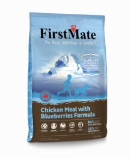 First Mate DOG Chicken & Blueberry 5.5lbs