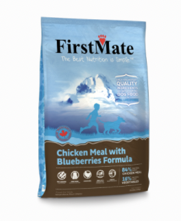 First Mate DOG Chicken & Blueberry 5.5lbs
