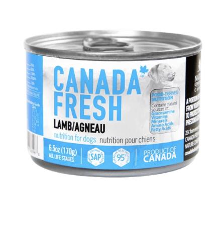 Canada Fresh Dog Lamb 170 g