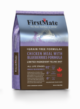 First Mate CAT Chicken & Blueberries 10lb / 4.54kg