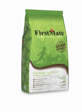 First Mate Dog Grain Friendly Free Range Lamb & Oats 25 lb