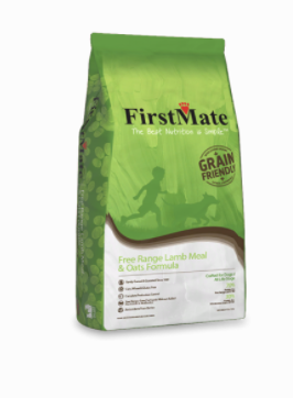 First Mate Dog Grain Friendly Free Range Lamb & Oats 5 lb