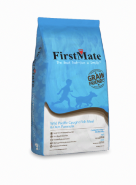 First Mate Dog Grain Friendly Wild Pacific Caught Fish&Oats 25 lb