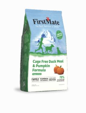 First Mate Dog LID GF Duck & Pumpkin 5 lb