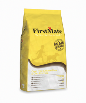 First Mate Dog Grain Friendly Cage Free Chicken Meal & Oats 5 lb