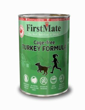 First Mate DOG Can Turkey 12.2 oz / 345g