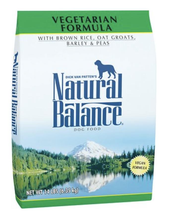 Natural Balance  Vegetarian 14 lb