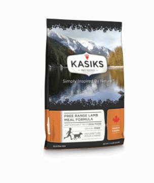 Kasiks DOG Free Range Lamb 25lbs
