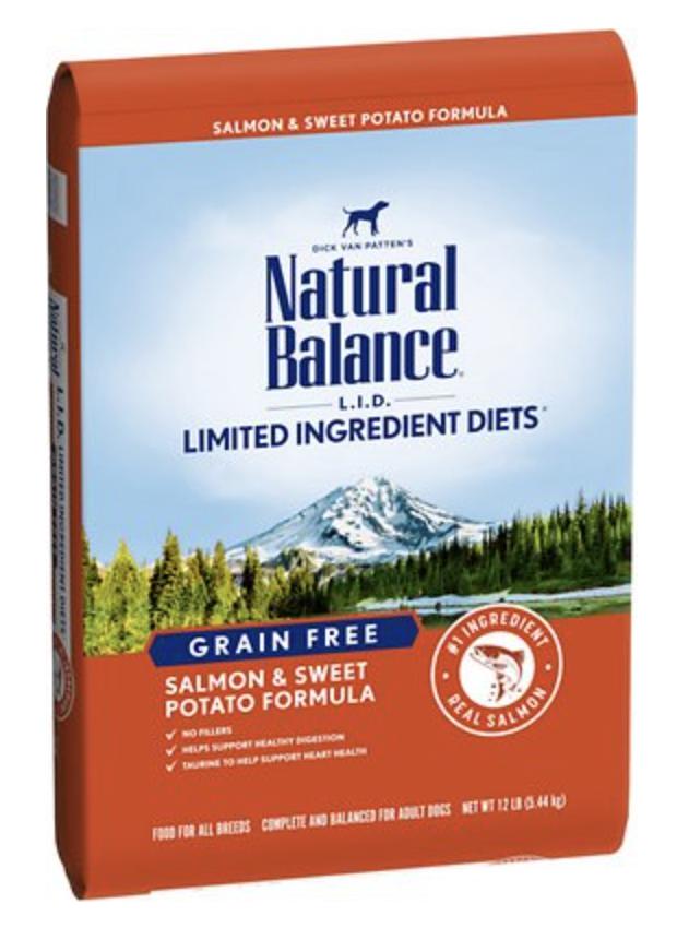 Natural Balance LID Sweet Potato & Fish 13 lb