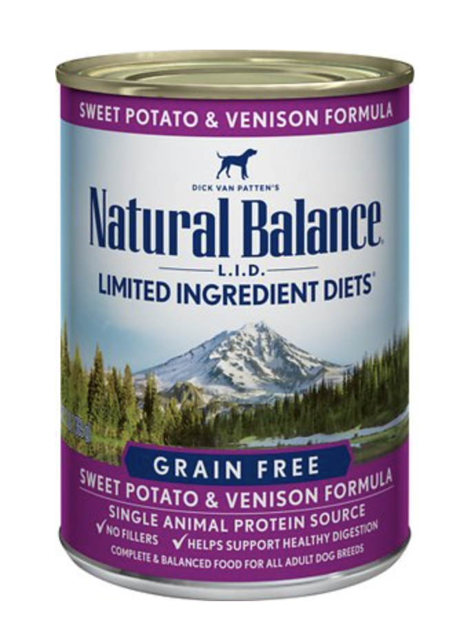 Natural Balance LID Venison & Sweet Potato 13 oz