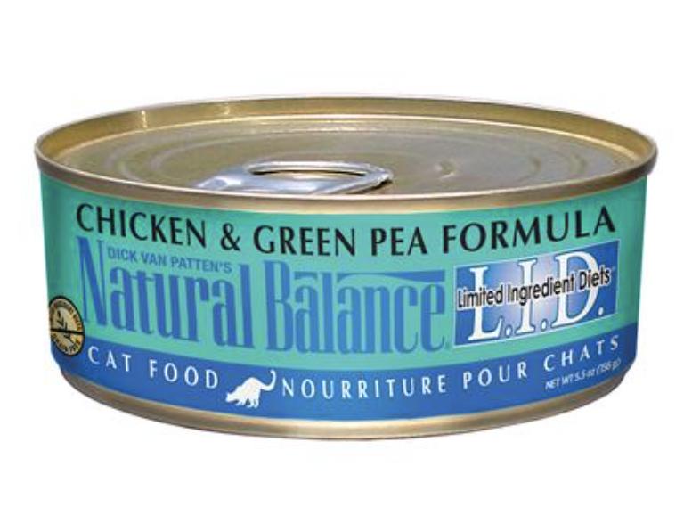 Natural Balance CAT Chicken & Green Pea 5.5oz