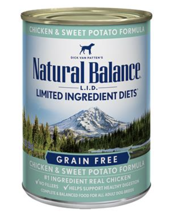 Natural Balance LID Chicken & Sweet Potato 13 oz