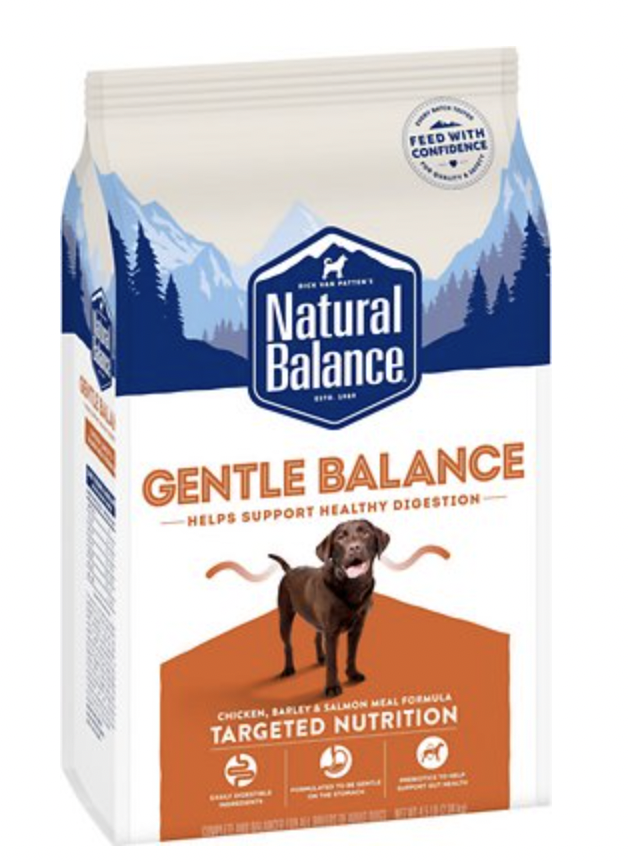 Natural Balance Targeted Nutrition Dog Gentle Balance Chicken 4.5 lb
