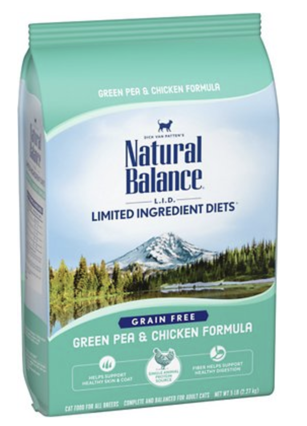 Natural Balance CAT L.I.D. Chicken & Green Pea 2.27kg / 5lb