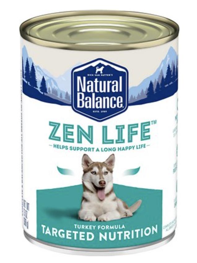 NB Targeted Nutrition Dog Zen Life Turkey 13 oz