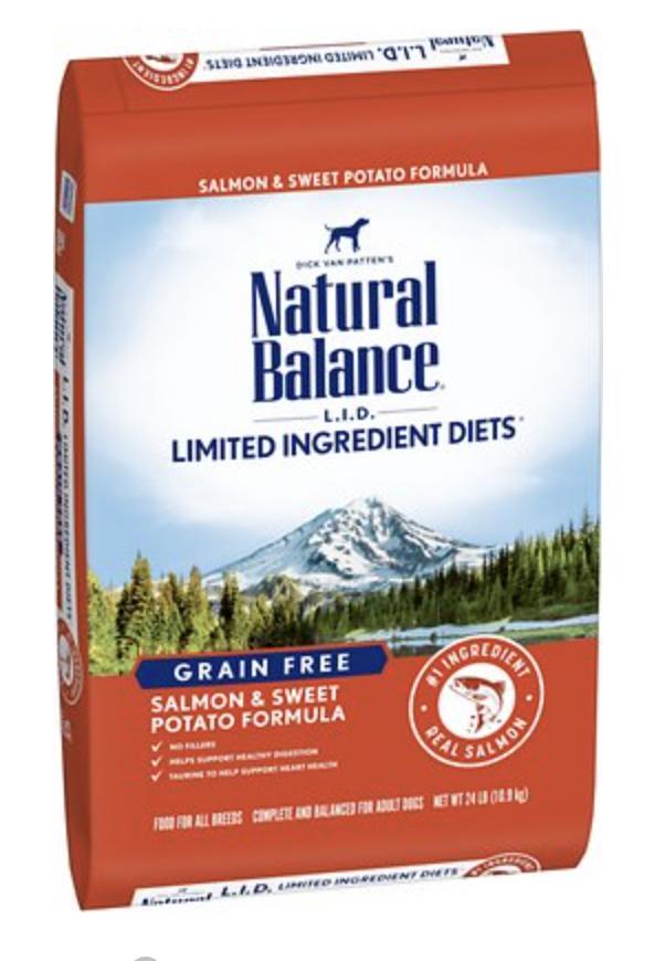Natural Balance LID Fish & Sweet Potato 26lb