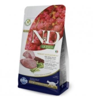 Farmina N&D Cat Quinoa Weight Management Lamb 1.5kg