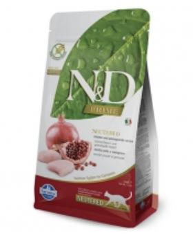 Farmina N&D Cat Chicken and Pomegranate Neutered 1.5kg