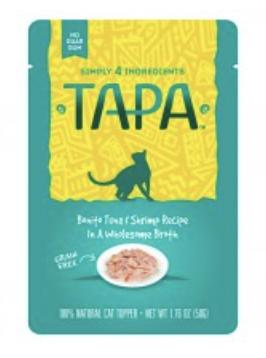 Tapa Cat Bonito Tuna & Shrimp 50g